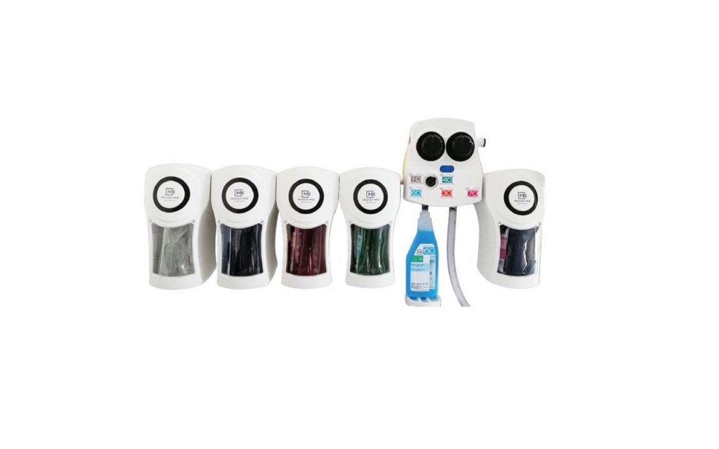 Master Mix - Sistema di dosaggio 4 prodotti flacone / 1 prodotto secchio - Master Mix - Sistema di dosaggio 4 prodotti flacone / 1 prodotto secchio
