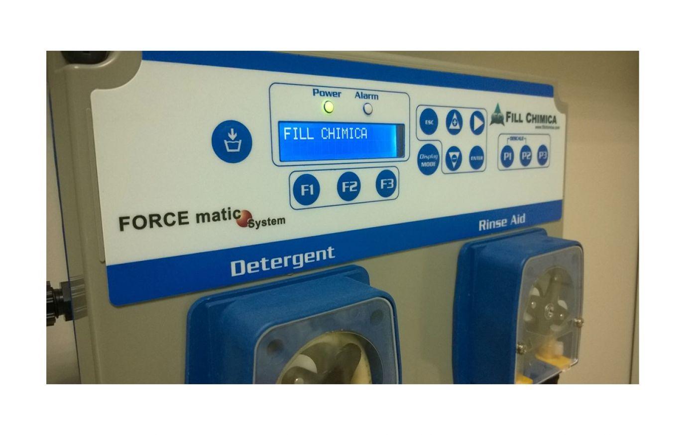 Impianto dosaggio automatico detergente e brillantante Force Matic - Lavastoviglie a traino - Impianto dosaggio automatico detergente e brillantante Force Matic - Lavastoviglie a traino