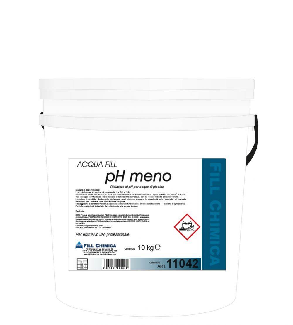 CORRETTORE ph MENO granulare kg 10