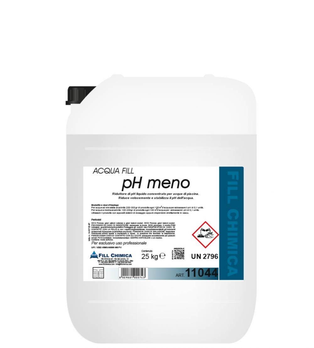 CORRETTORE ph MENO liquido kg 25