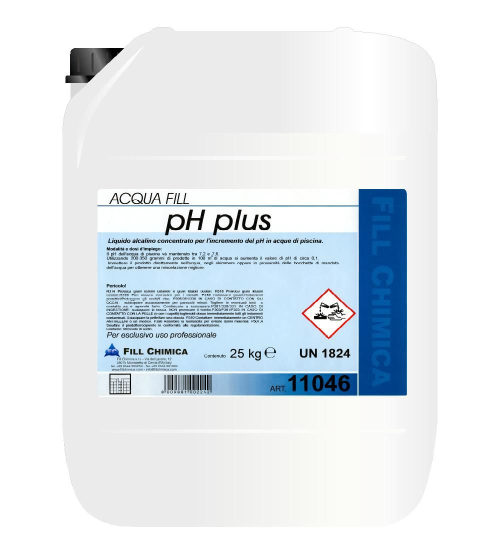 CORRETTORE ph PLUS liquido kg 25