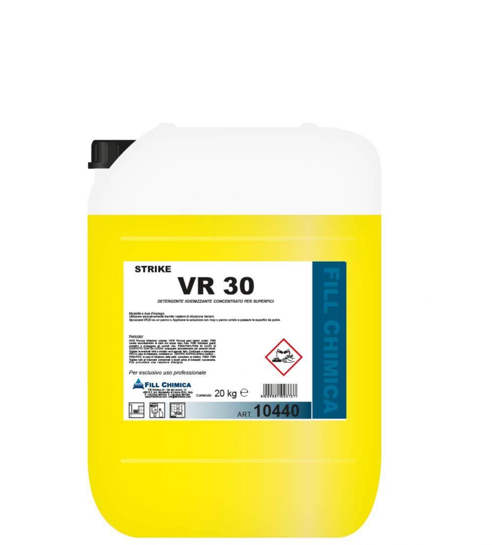 VR 30 - detergente igienizzante kg 20