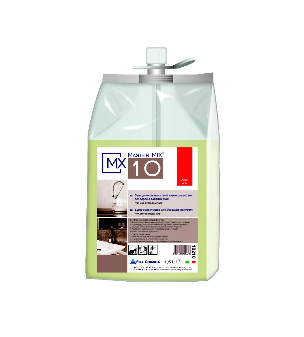 Master Mix MX 10-disincrostante inodore ml 1500