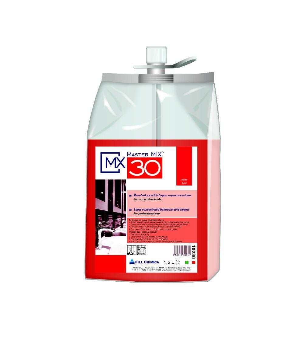Master Mix MX 30 - det. igienizzante acido bagno ml 1500