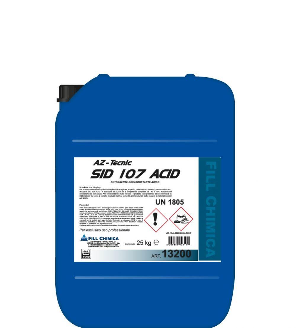 SID 107 ACID kg 25