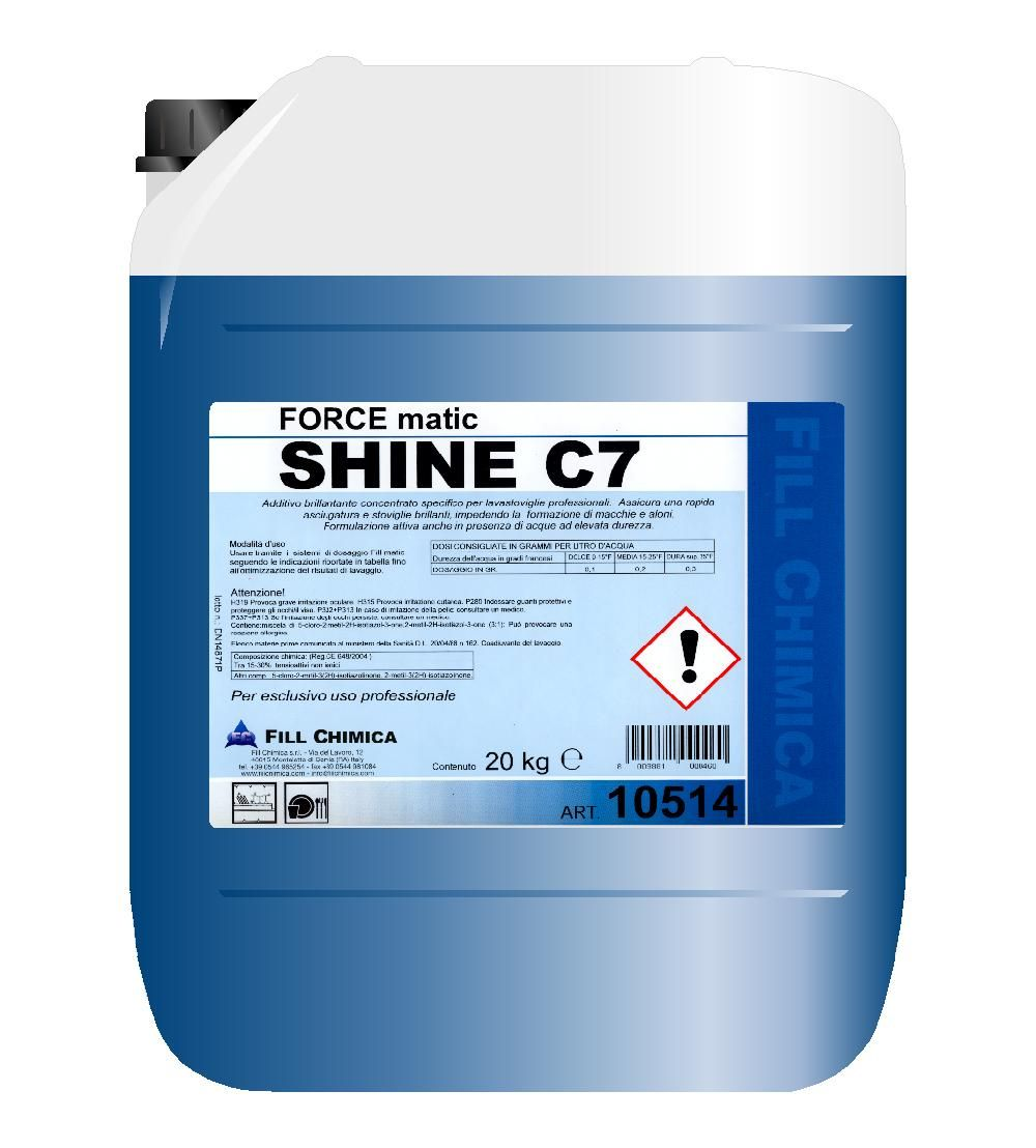 FORCE matic SHINE C7 kg 20
