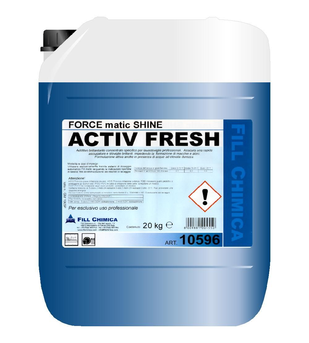FORCE matic SHINE ACTIVE FRESH kg 20
