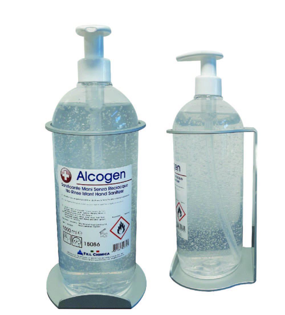 Portaflacone Alcogen da parete ml 1000