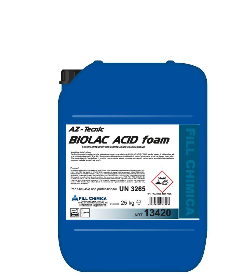 Az-Tecnic Biolac Acid Foam  kg 25